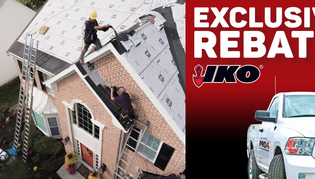 IKO Roofing Exclusive Rebate Offer!